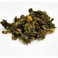 Lemon Ginger Sencha Loose Leaf Green Wellness Tea